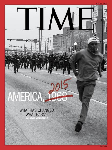Time magazine cover photo