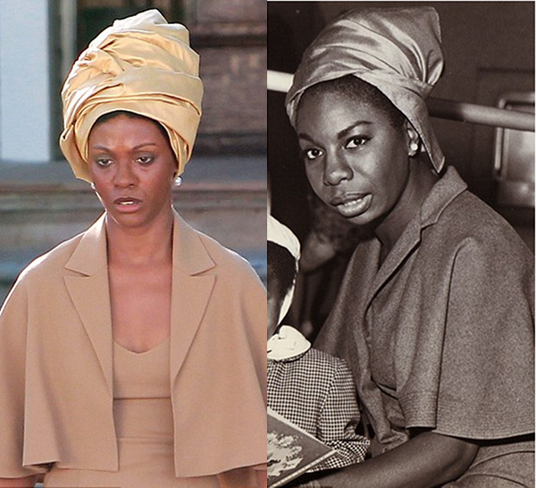 Questionable casting in fictional portrayal of Nina Simone.