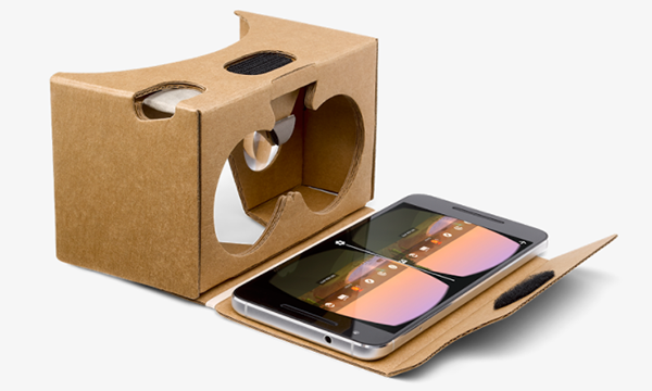 Google Cardboard transforms your smartphone into a Virtual Reality (VR) viewer in seconds!